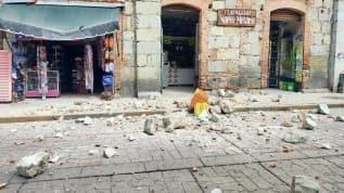Meksika'da 7.5 büyüklüğünde deprem!