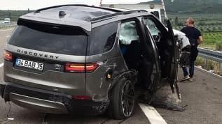 Şarkıcı Alişan kaza yaptı! Aracın içinde eşi, oğlu ve bakıcı vardı