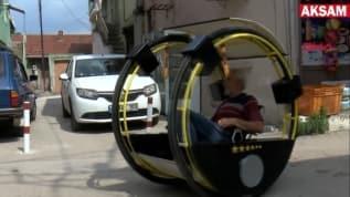 Ürettiği elektrikli aracı takla attırabilene para verecek