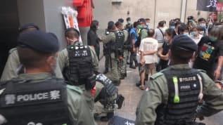 Çin'de Ulusal Güvenlik Kanunu protestosuna polis müdahalesi