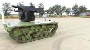 'İnsansız mini tank' 2021'de Kara Kuvvetlerine teslim edilecek
