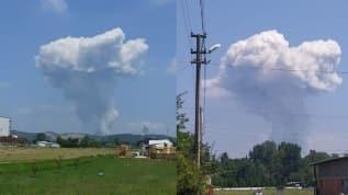 Sakarya'daki havai fişek fabrikasında patlama