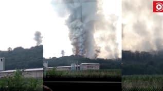 Son Dakika... Havai fişek fabrikasında patlama!