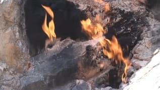 Amanoslar'daki 'yanan taşlar' için turizm atağı