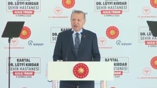 Başkan Erdoğan: 'Sağlık altyapımızı daha da güçlendirdik'