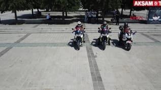 İstanbul'un motosiklet ambulansları