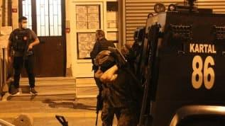 İstanbul'da eş zamanlı terör operasyonu! Gözaltılar var