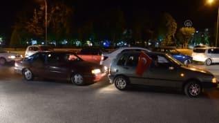 Ayasofya kararına konvoylu kutlama