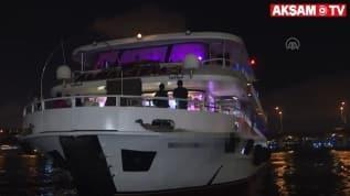 İstanbul'da deniz polisi göz açtırmadı