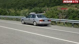 'Manyetik yol'dan geçen araçları görenler şaşırıyor