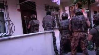 Bağcılar merkezli 6 ilçeye operasyon! 75  kişi gözaltına alındı