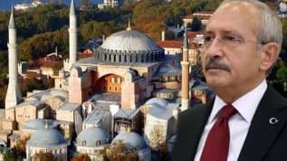 'Ayasofya'nın yeniden ibadete açılmasına tepki gösteren tek CHP'li Kılıçdaroğlu olsun'