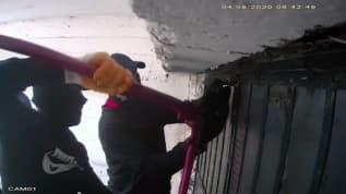 Beykoz'da yarım milyonluk hırsızlık! 5 dakikada böyle soydular