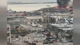 Beyrut'taki patlamada ölü sayısı 100'e yükseldi