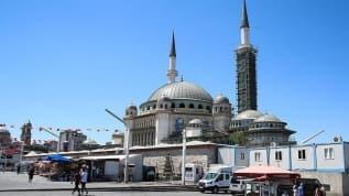 Taksim Camii'nde sona doğru: Yüzde 65'i tamamlandı