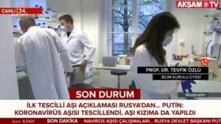 Putin resmen duyurdu... Dünyanın ilk Covid-19 aşısı tescil edildi