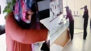 Kuyumcuya kadın kılığında girdiler, altınları çaldılar, işyeri sahibini vurdular! Film gibi soygun kamerada