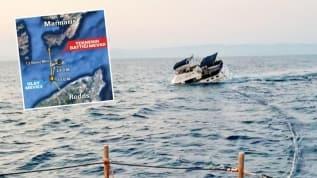 Yunan sahil güvenliği Türk teknesini yaylım ateşine tuttu