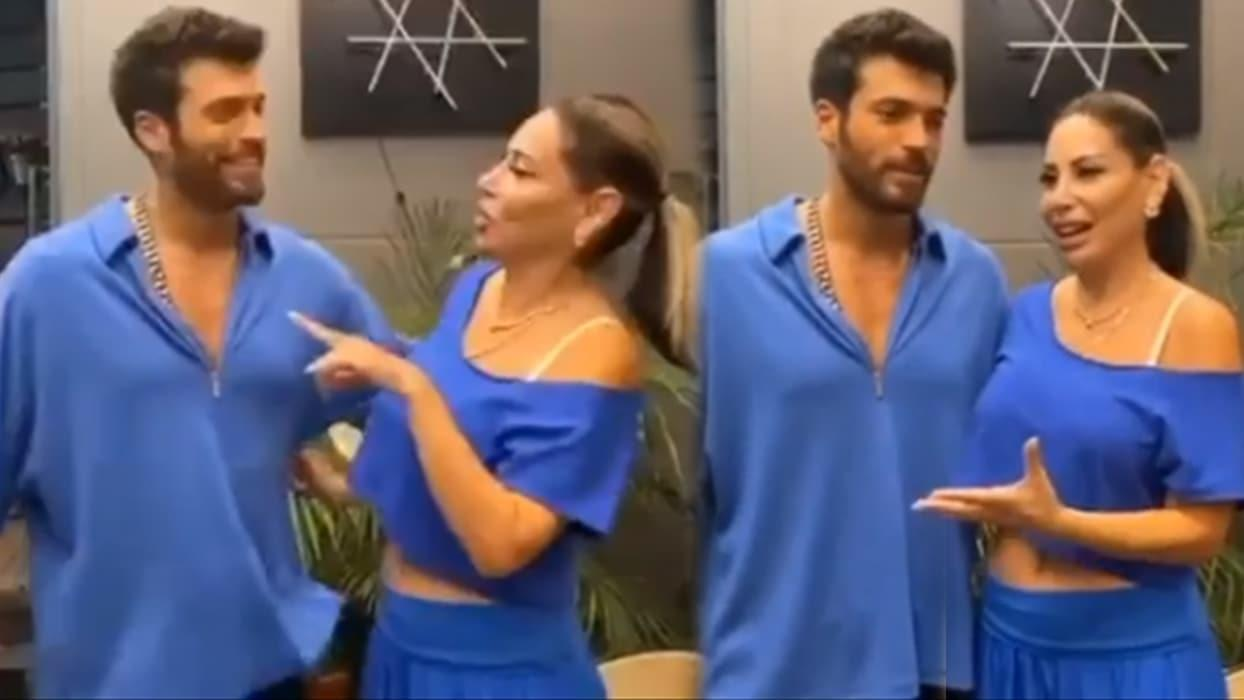<p>Oyuncu Can Yaman, 'Bay Yanlış' dizisinin çekimlerinin yapıldığı evin sahibi şarkıcı L