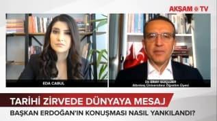 Tarihi Zirvede Başkan Erdoğan'dan mesaj