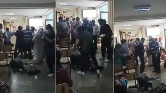 Çapa'da 'Maske tak' diye uyarıda bulunan sağlıkçı ameliyata alındı