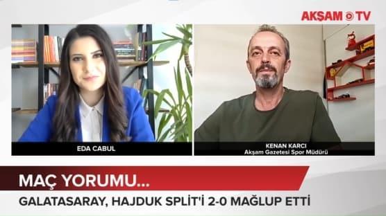 Galatasaray- Hajduk Split maç yorumu