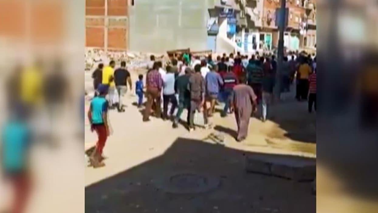 <p></p><p><span >Sosyal medyada yayınlanan görüntüler ve Mısır rejimi muhalefetine ait haber siteler