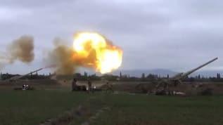 Azerbaycan ordusu Ermenistan'a karşı ileri harekat başlattı