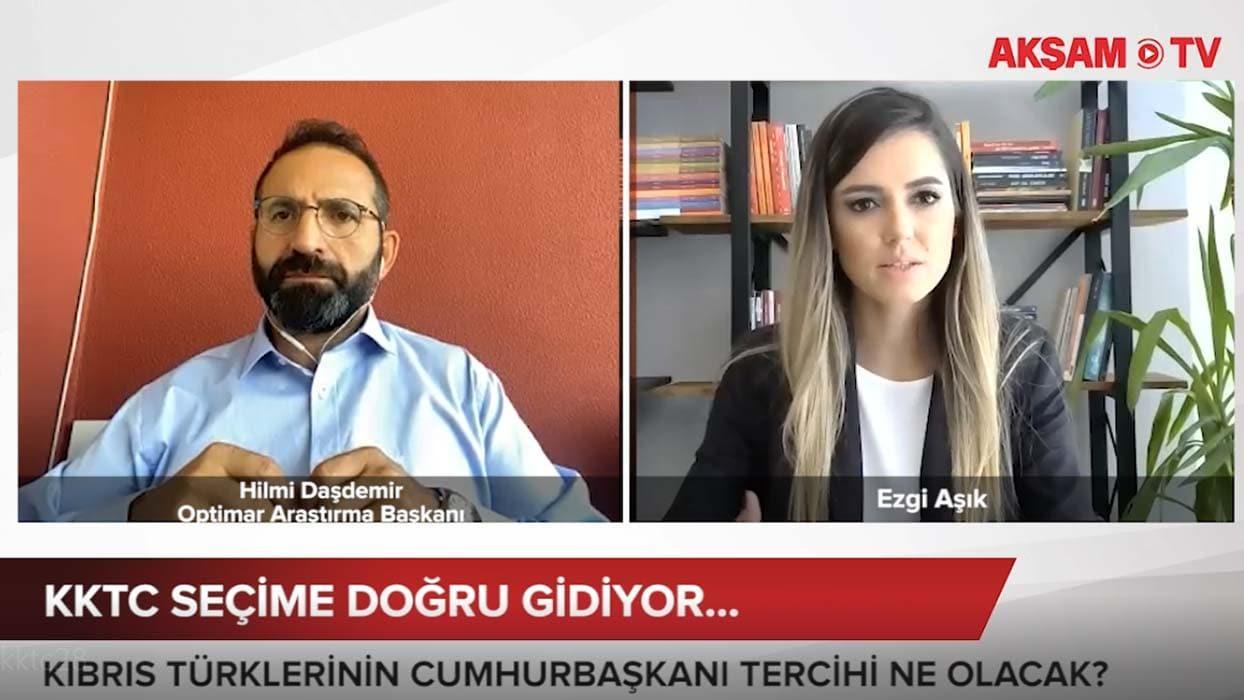 <p>OPTİMAR Araştırma Başkanı Hilmi Daşdemir, son gelişmeleri  Akşam TV'ye anlattı</p><p>Editör