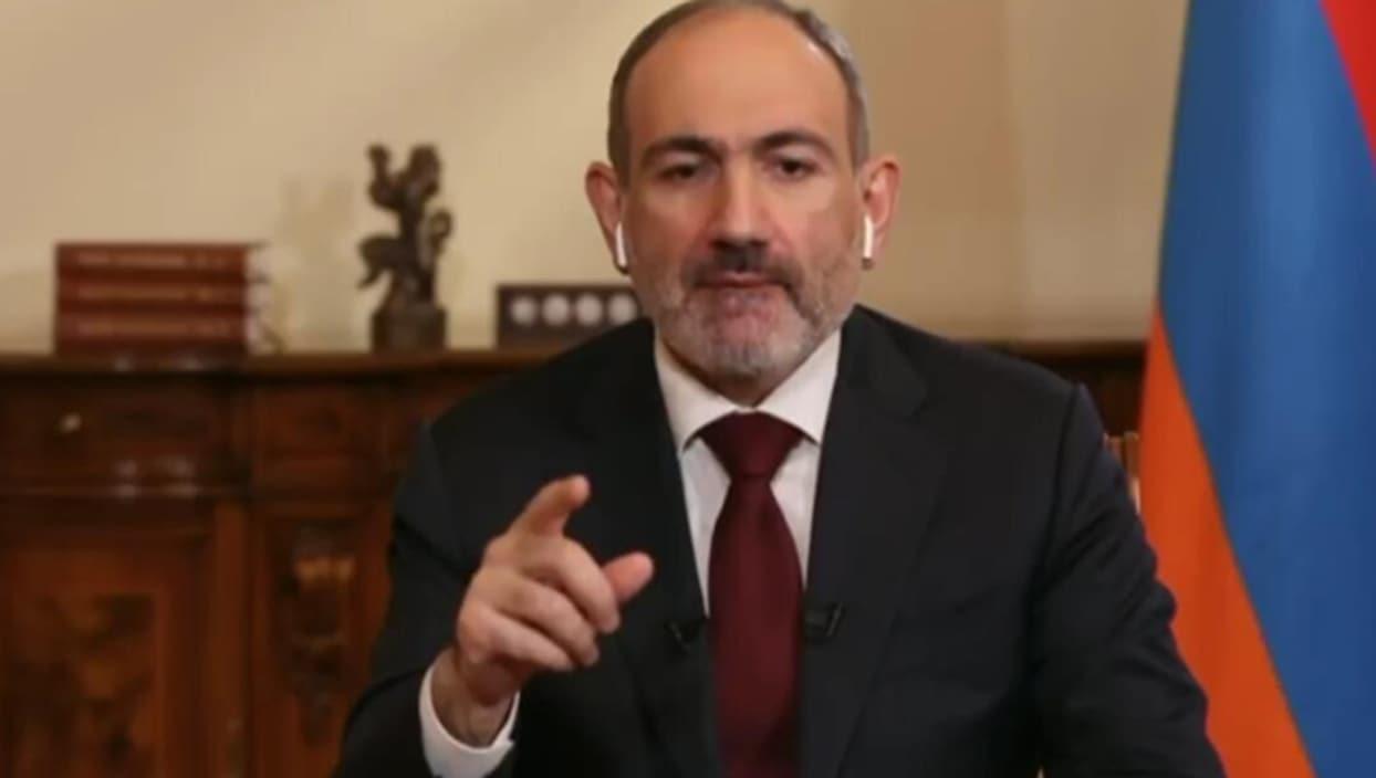 <p>İşgalci Ermenistan'ın Başbakanı Nikol Paşinyan, BBC'de programa katıldı. BBC sunucusu Steph
