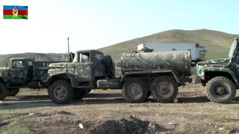 <p>Azerbaycan Savunma Bakanlığı, Azerbaycan ordusunun Fuzuli ve Cebrayıl'de işgalci Ermenistan