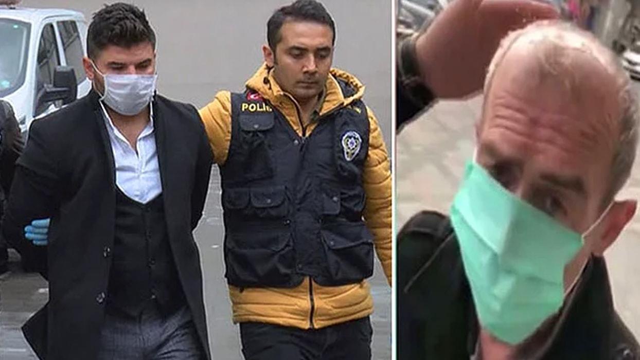 <p>Bağcılar'da 53 yaşındaki İhsan Öztürk'ün başına zorla kolonya döküp maske taktığı videoyu sosyal