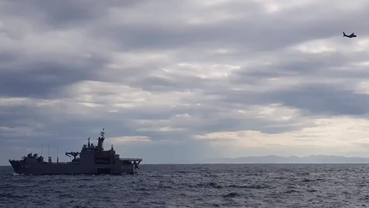 <p>Milli Savunma Bakanlığı (MSB), Deniz Kuvvetlerine ait gemiler tarafından Saros Körfezi'nde atışlı