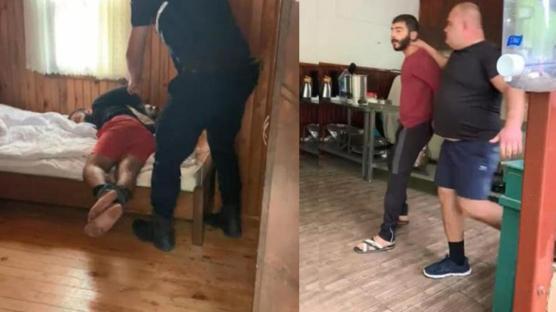 Rus mülk sahibi 15 kişiyle oteli bastı: Kiracısının el ve ayaklarını bağlayıp darbetti