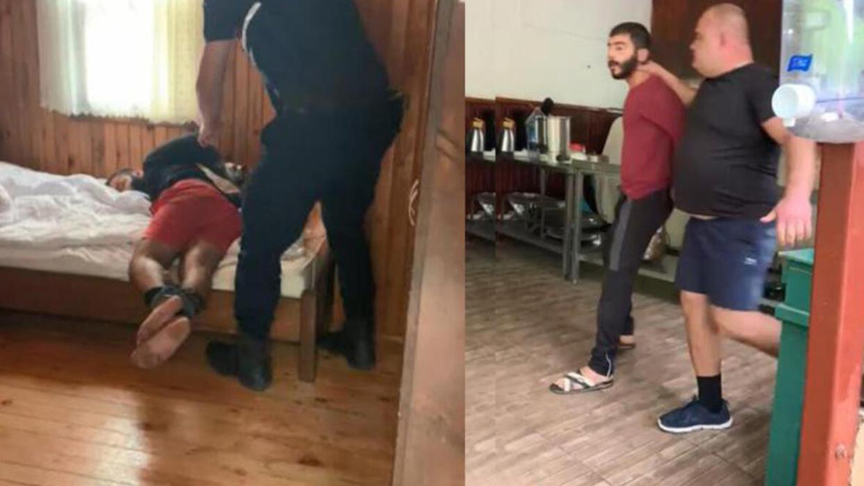 <p>Antalya'da otel işletmecisi 27 yaşındaki Orhan Kaplan, otelin mülk sahibi Rus G.A. tarafından sal