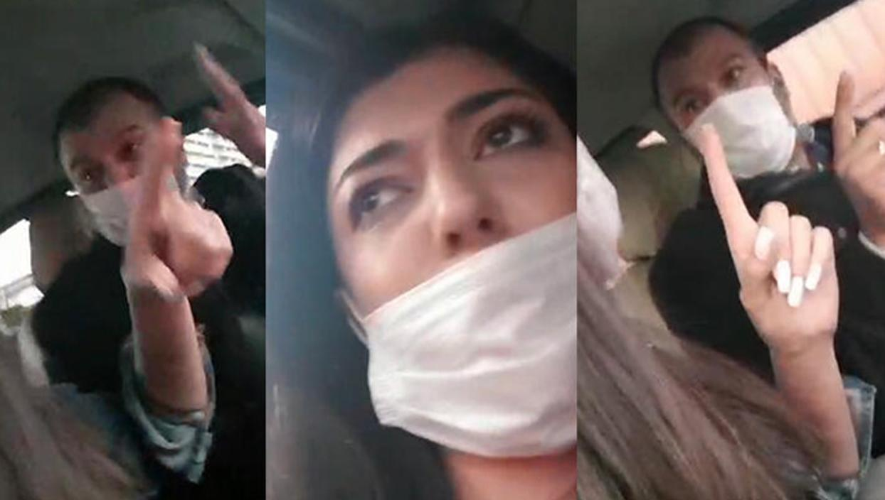 <p>İstanbul'da Esenyurt'tan bir mobil uygulama üzerinden taksi çağıran kadın müşteri araca bindikten