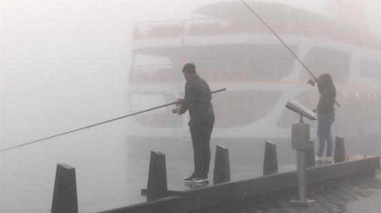 İstanbul'da yoğun sis: Sürücüler zor anlar yaşadı