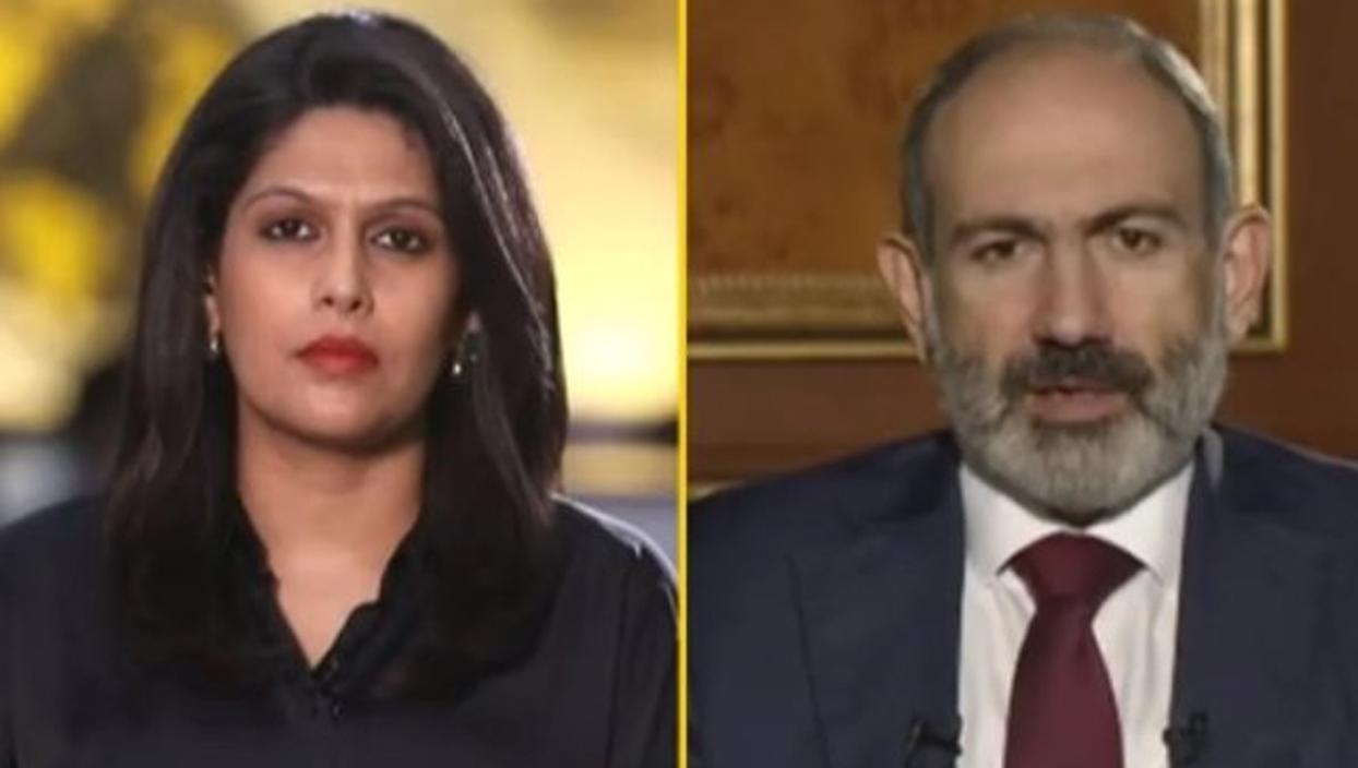 <p>İşgalci Ermenistan'ın Başbakanı Nikol Paşinyan'ın Türkiye'yi şikayet etmediği bir Hindistan kalmı