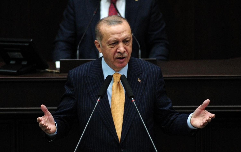 <p>Cumhurbaşkanı ve AK Parti Genel Başkanı Recep Tayyip Erdoğan, partisinin TBMM Grup Toplantısının