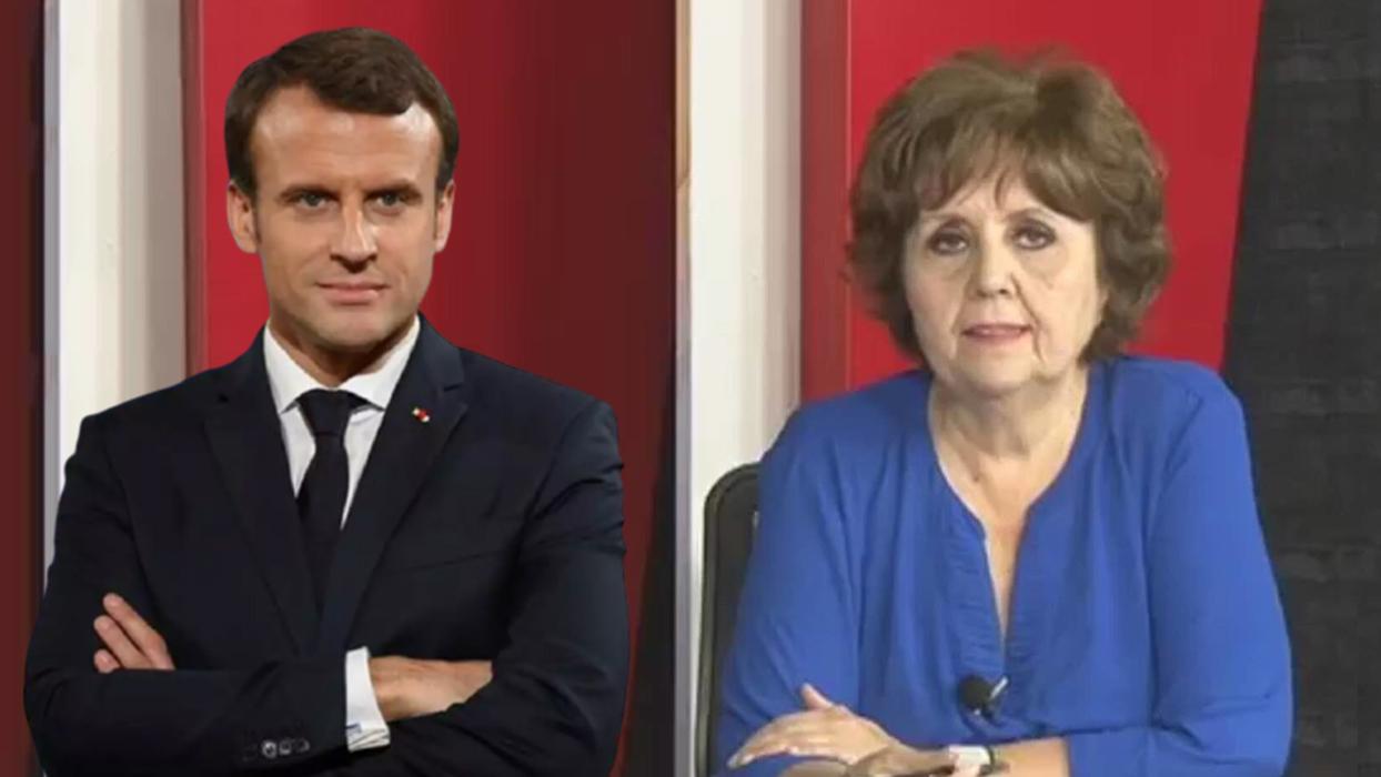 <p>Fransa Cumhurbaşkanı Emmanuel Macron'un İslam'ı hedef alan sözleri ve Hz. Muhammed'e yönelik haka