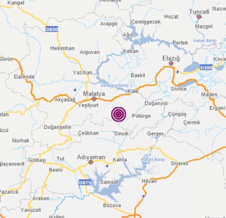 <p>Malatya'da 4.7 şiddetinde deprem meydana geldi. İşte 8 saniye süren depremden ilk görüntüler...</