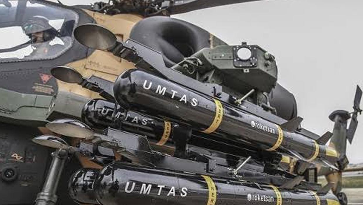 <p>Milli füze sistemleri üreticisi Roketsan, ilk yerli tasarım hassas güdümlü tanksavar füze sistemi