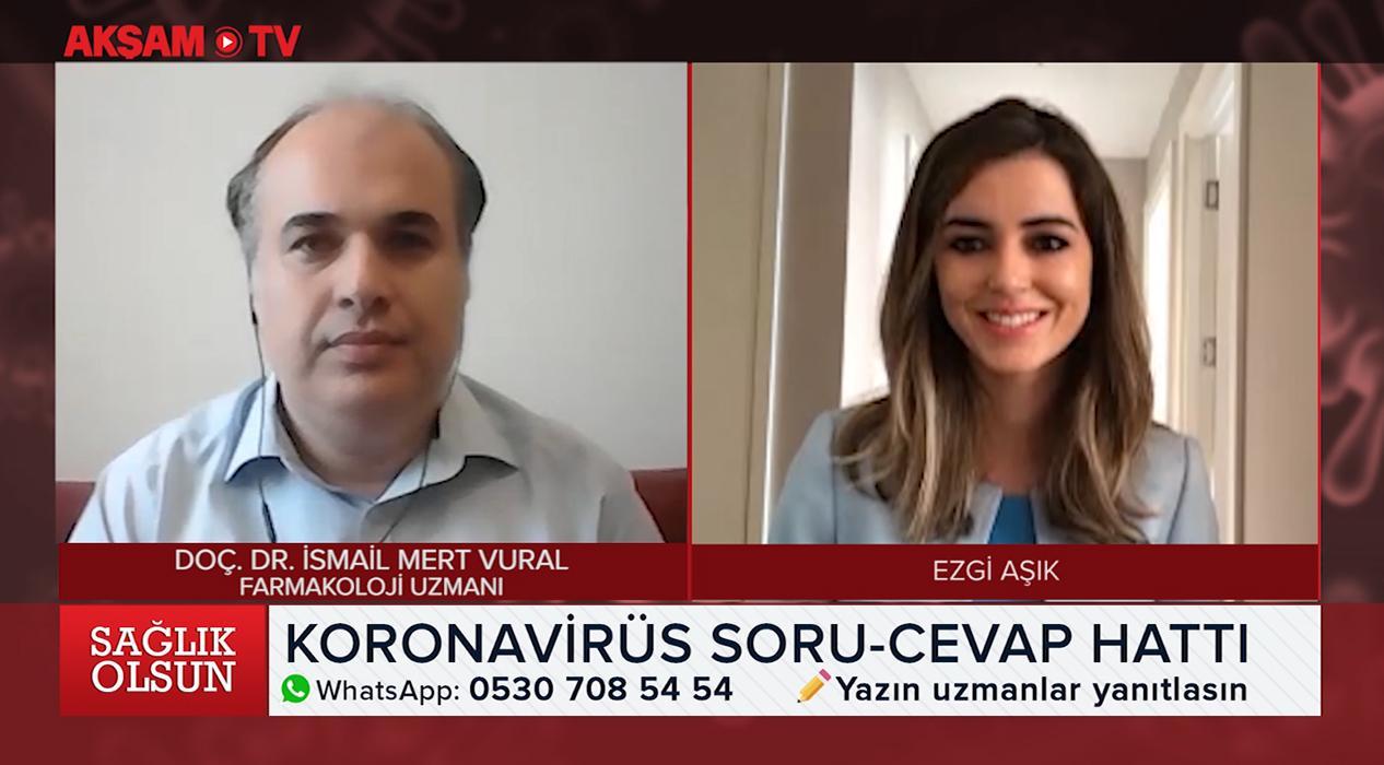 <p>Akşam TV WhatsApp hattına Kovid-19 ile ilgili vatandaşlardan  gelen sorular alanlarında uzman isi