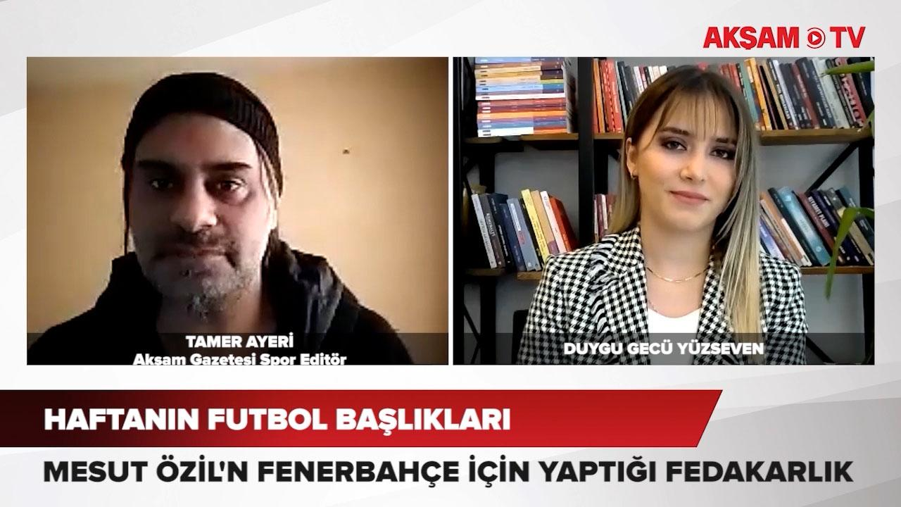 <p>Futbolda sıcak gelişmeleri ve merak edilen başlıkları Akşam Gazetesi Spor Editörü Tamer Ayeri, yo