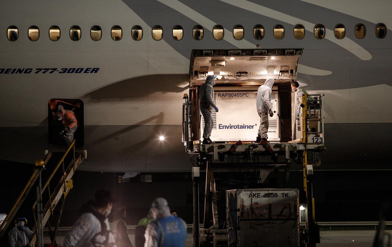 <p>Çin'den sipariş edilen koronavirüs aşısının ikinci partisini taşıyan uçak, İstanbul'a geldi.</p>