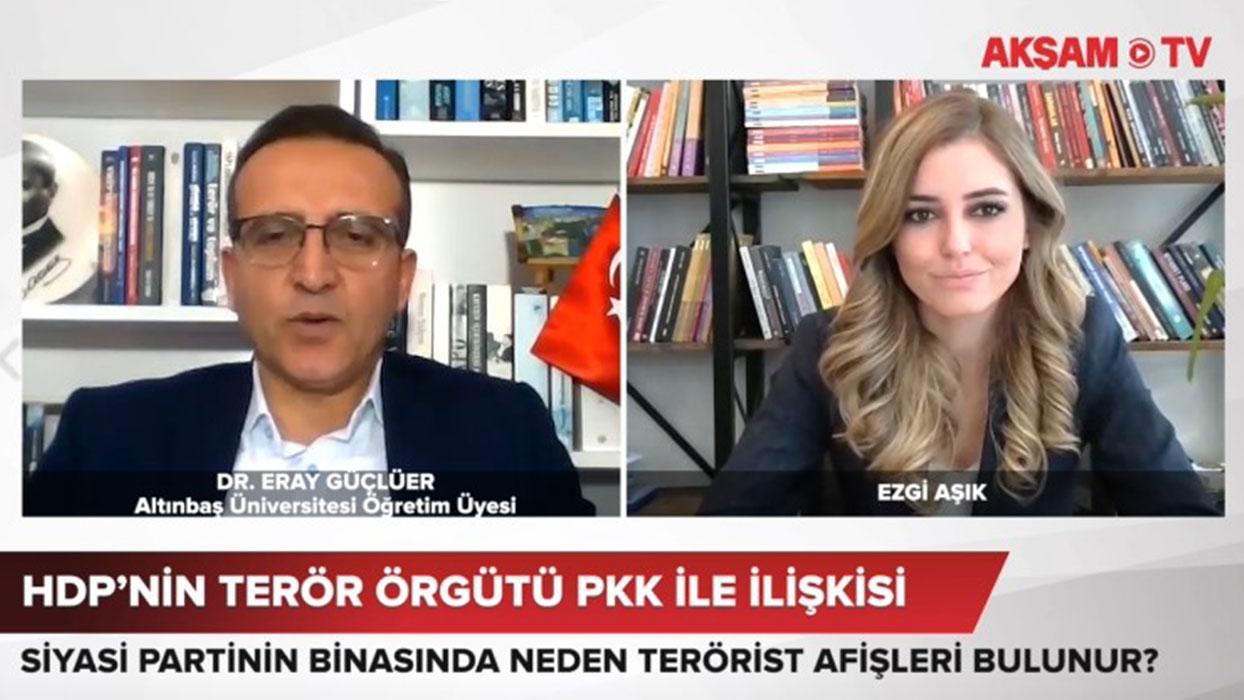 <p>Terörist Öcalan ve PKK paçavralarıyla dolu olan binadaki  görüntüler gündeme bomba gibi düştü. Te