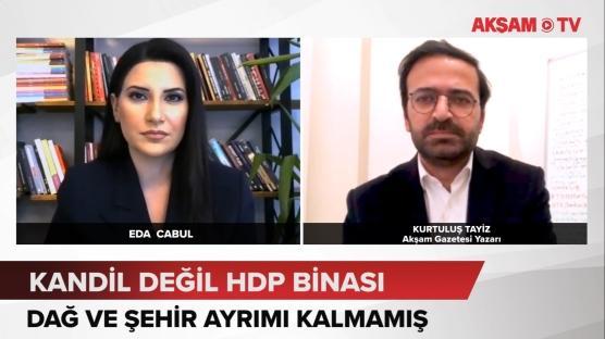 Kandil değil HDP binası