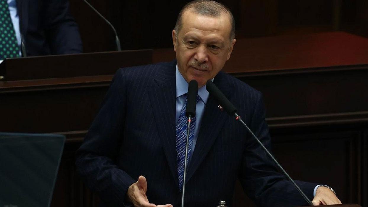 """<h3>Başkan Erdoğan'dan CHP'ye erken seçim yanıtı</h3><p>""""2023'E KADAR BEK"""
