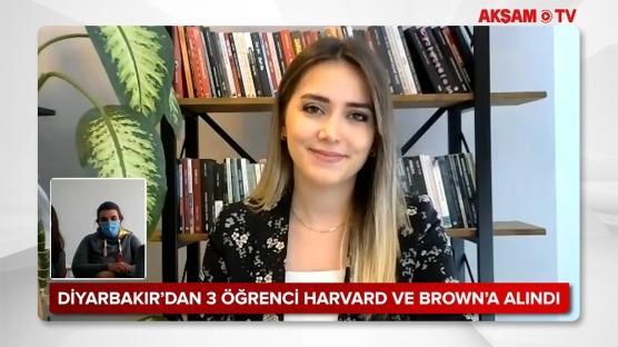 Diyarbakır'dan Harvard ve Brown Üniversitesi'ni kazanan öğrenciler başarılarının sırrını anlattı