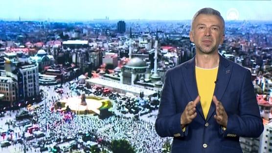 Taksim Camii ve papağanlar
